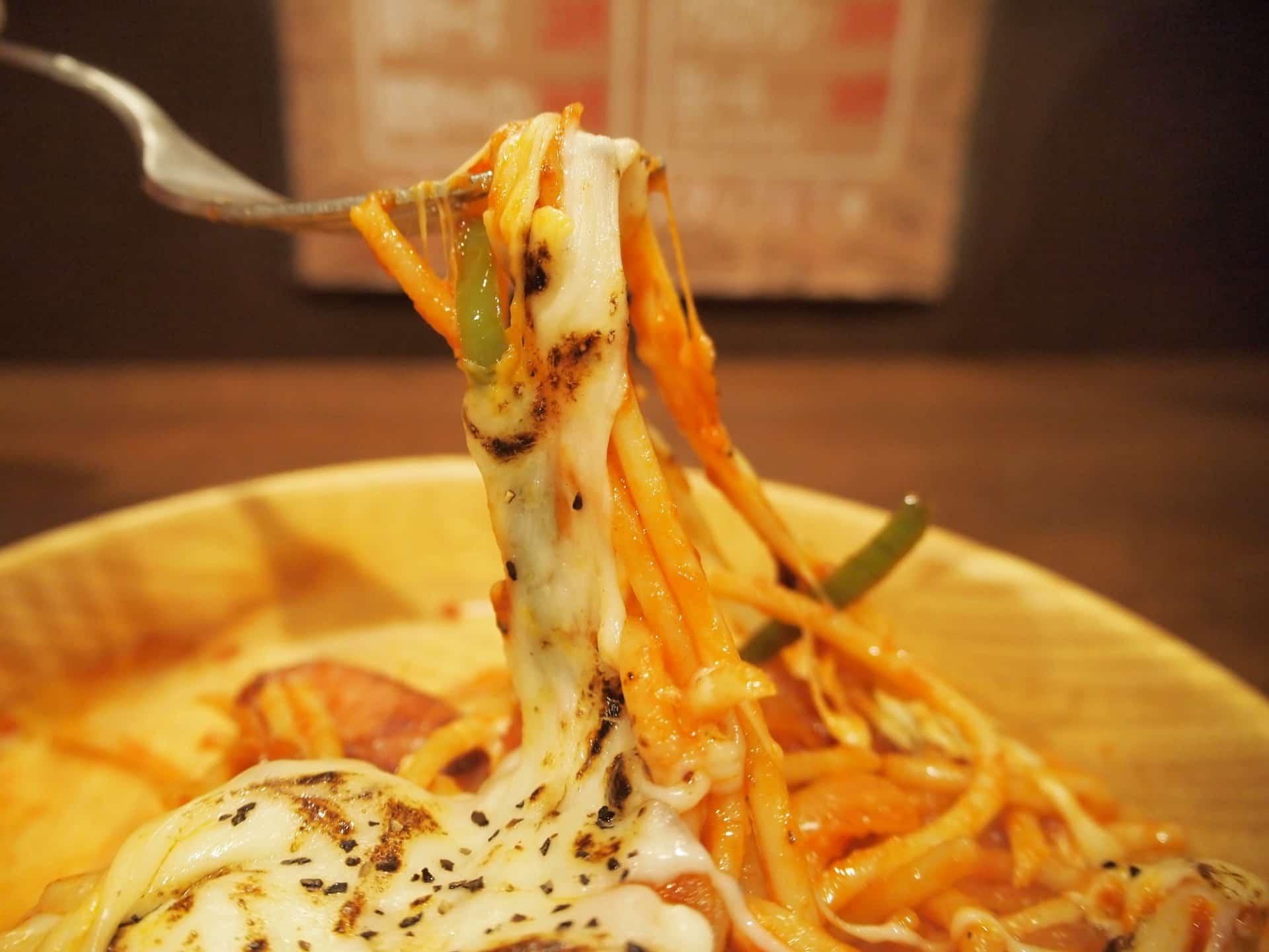 ちゃっぷまん − 「焼きチーズナポリタン」が美味!大盛り無料の神戸のパスタ専門店