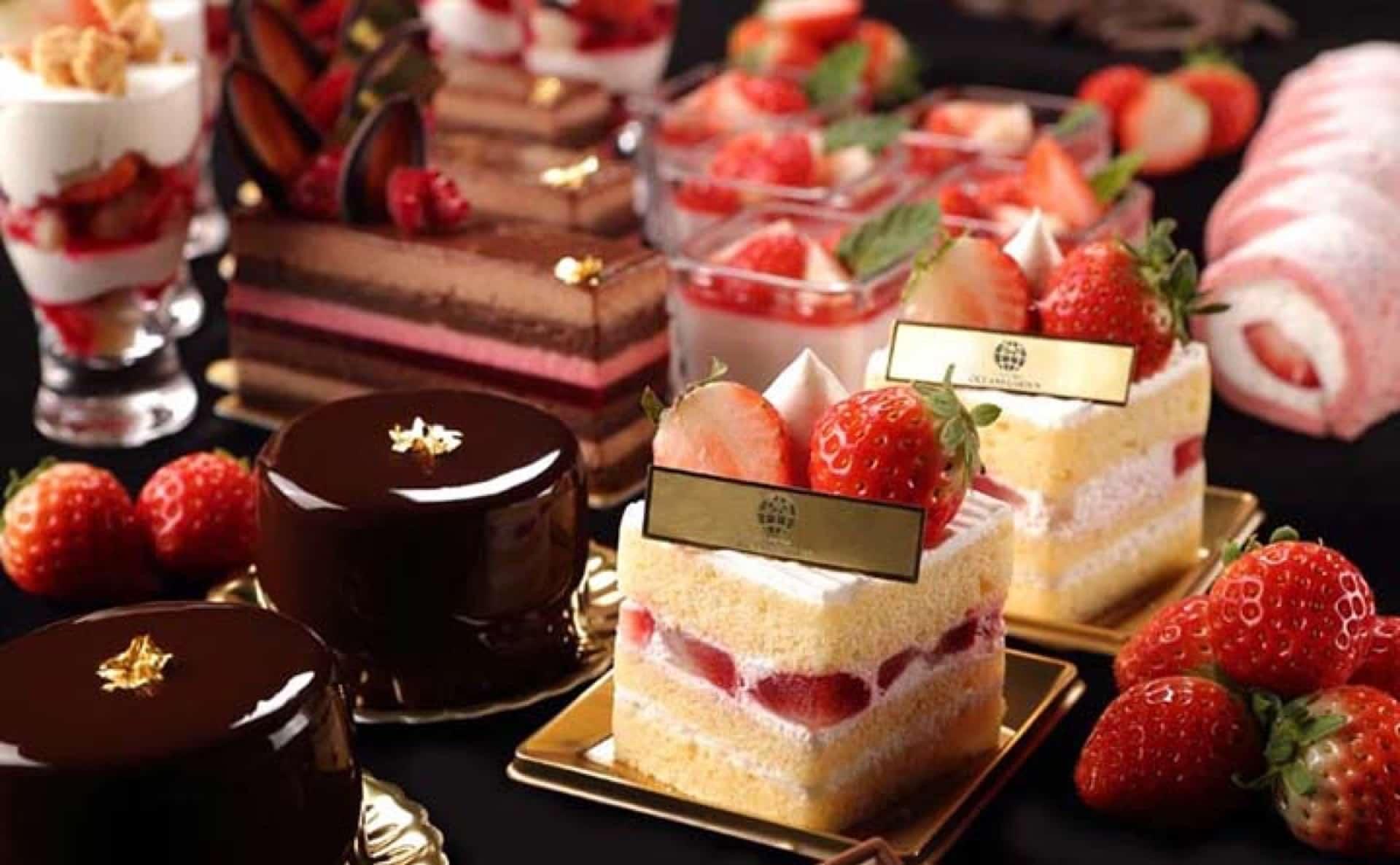 3日間限定!ラスイート神戸でストロベリービュッフェ。いちご&ショコラスイーツを好きなだけ