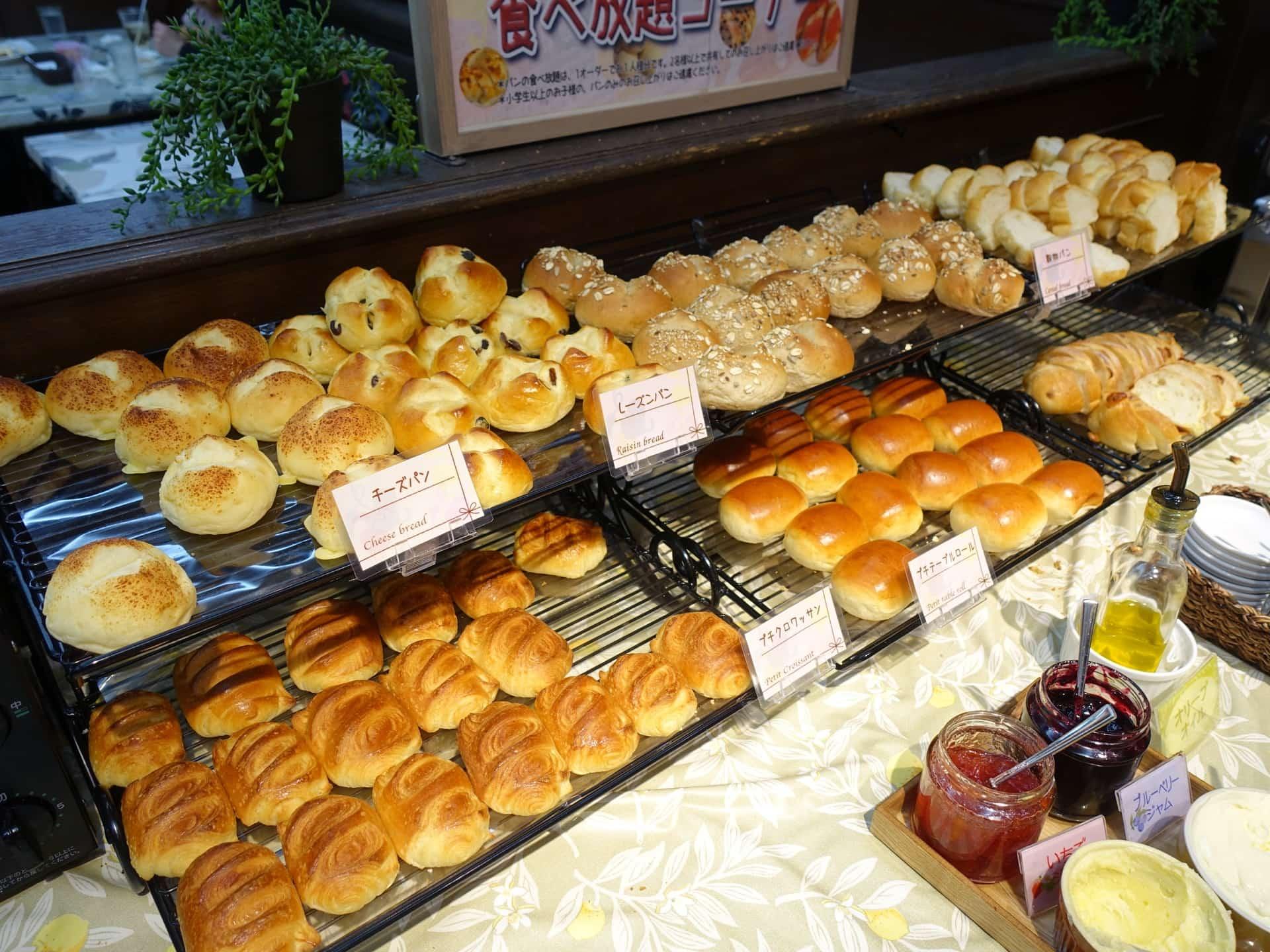 ペペオリオ − カスカードのパン食べ放題付き!16時までOKの880円ランチ。三宮ビブレのあのパスタ屋さん