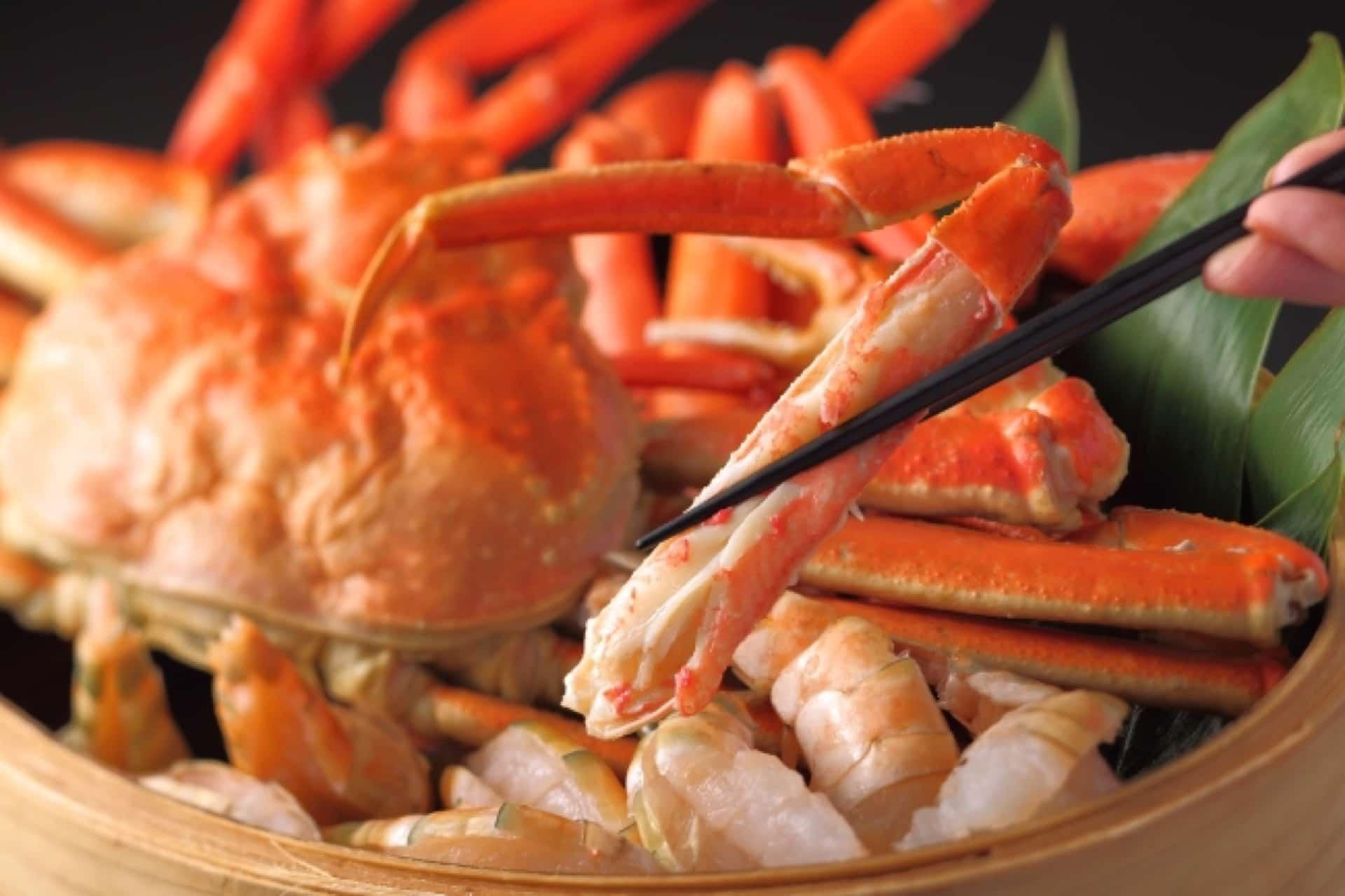 神戸メリケンパークオリエンタルホテルでかに食べ放題!蒸し蟹を好きなだけ