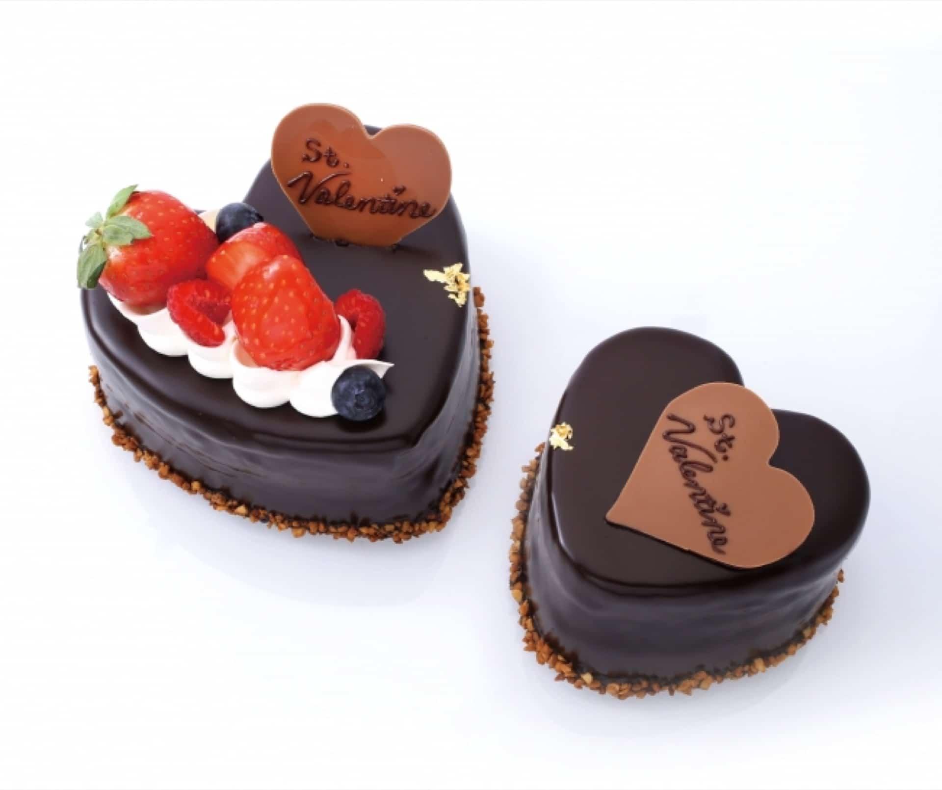 バレンタイン限定!「アンテノール」のチョコレートケーキにメッセージを入れられる…♡