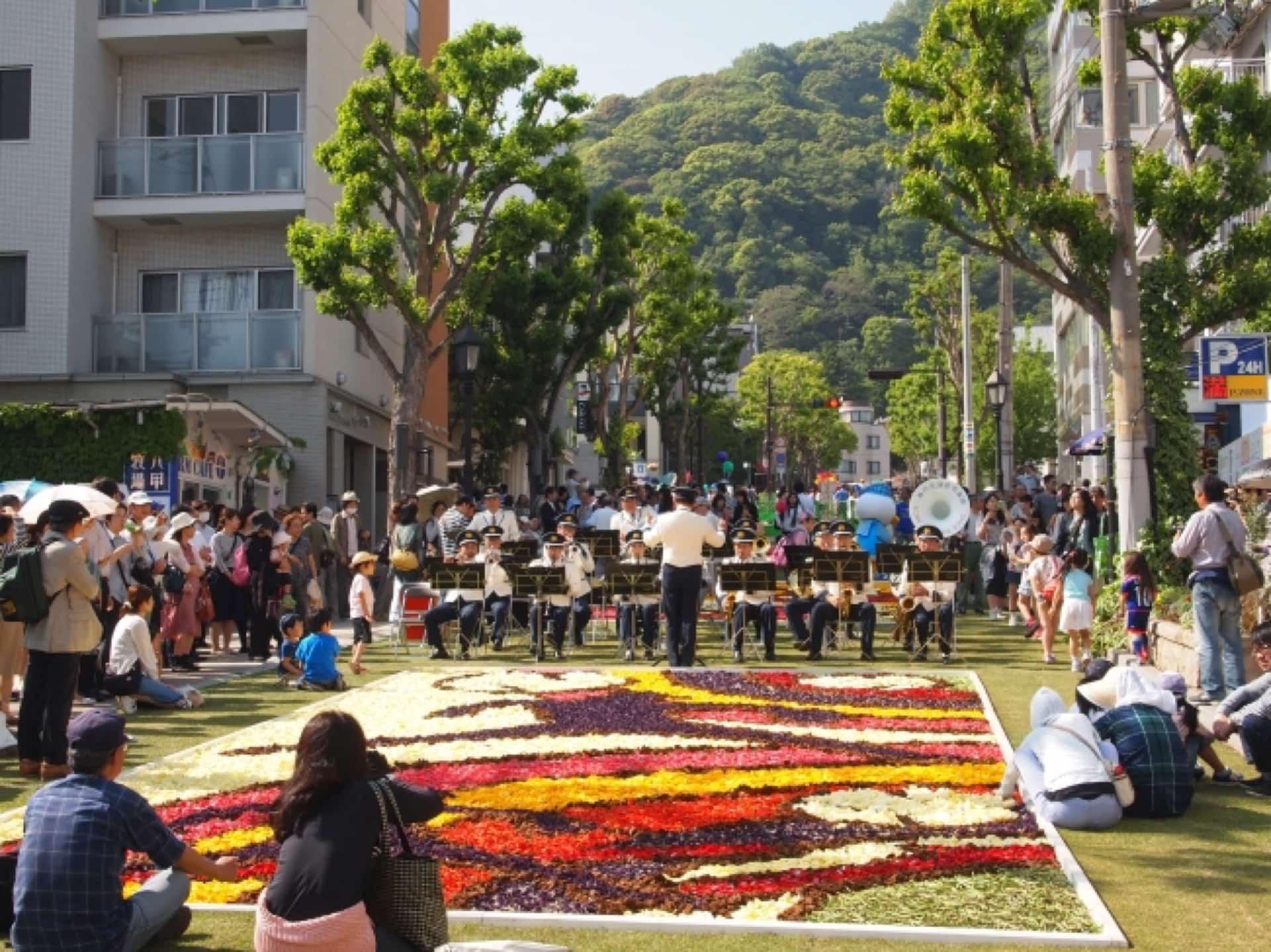 「インフィオラータこうべ2018」今年も開催!GWは花いっぱいの神戸へ行こう