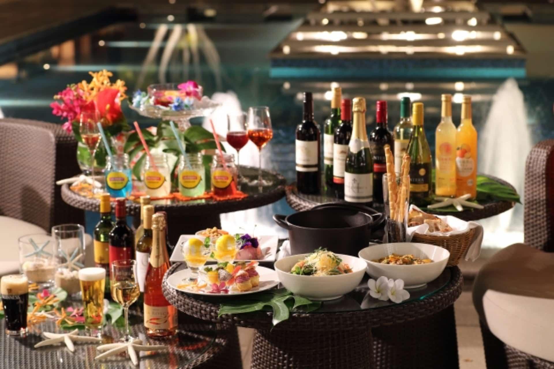 4月から楽しめる!ラスイート神戸で「ワイン&ビアガーデン」開催。優雅な時間が過ごせそう