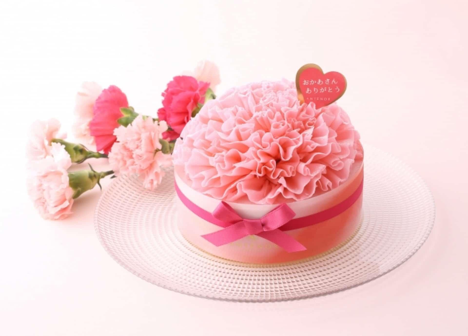 """母の日に、アンテノールのケーキを。""""まるでカーネーション""""な美しいケーキにうっとり"""