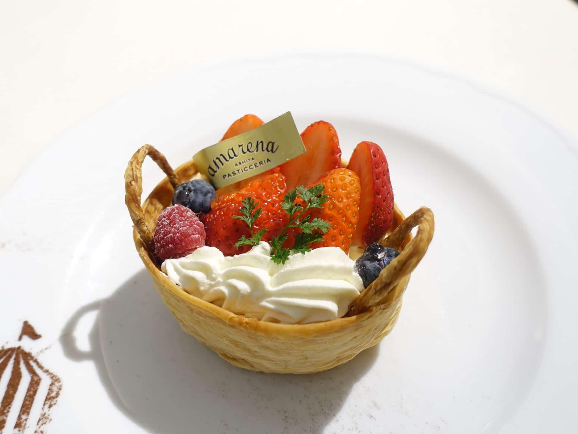 アマレーナ 芦屋本店 − ランチ&スイーツが人気のイタリアンレストラン。ランチは+300円でドルチェが選べる!