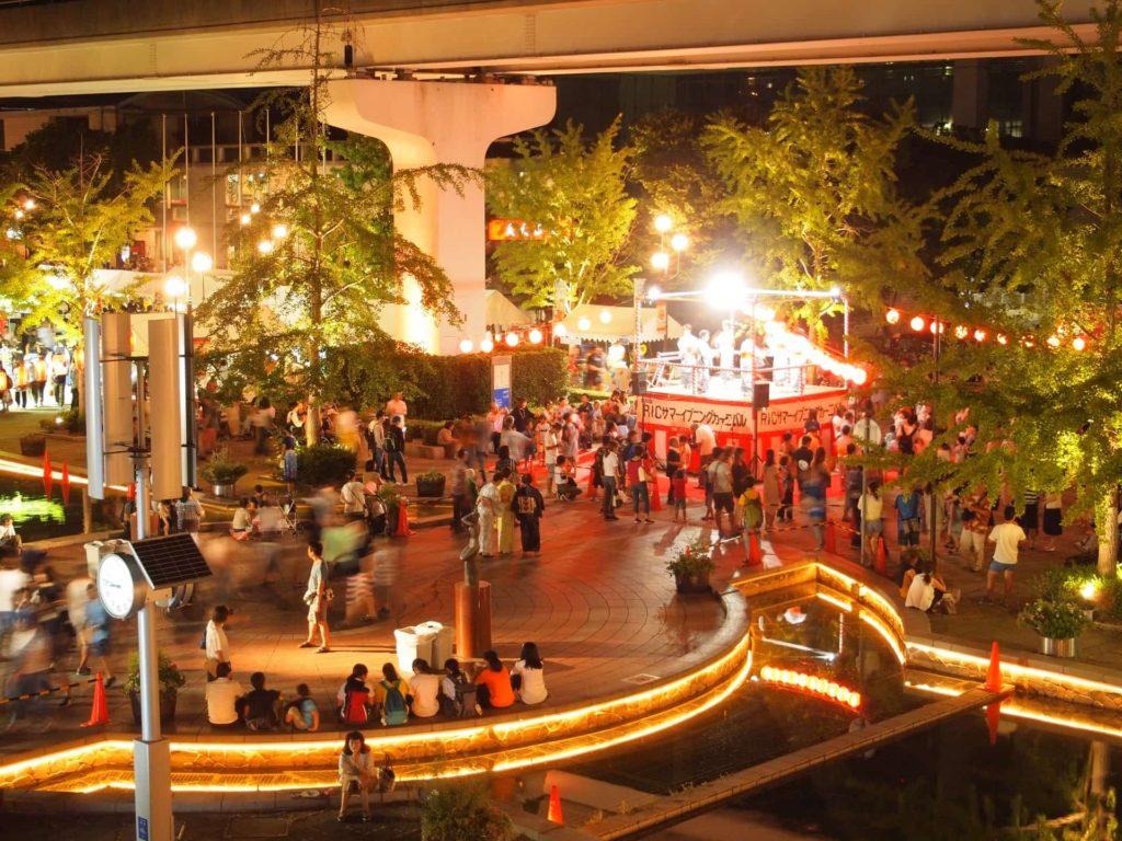 六甲アイランド イベント 夏祭り 2019 六アイ RICサマーイブニングカーニバル いつ 8月 アクセス 行き方 場所 神戸