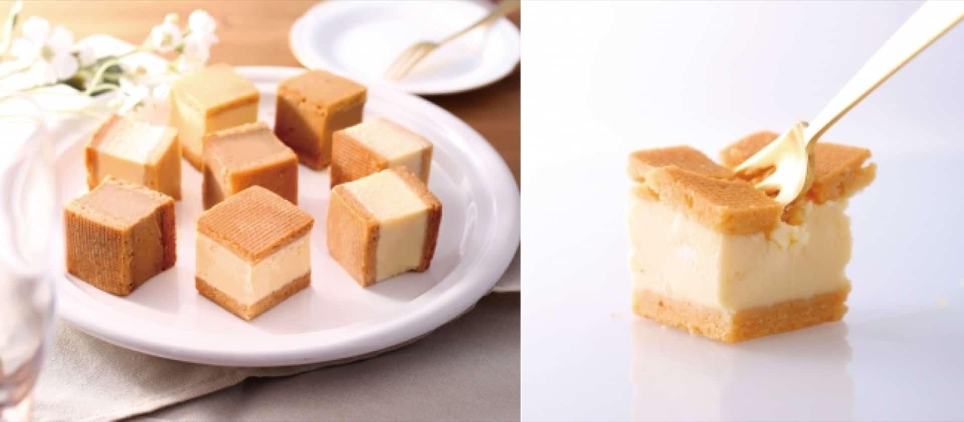 アンテノール神戸そごう店限定!2口サイズのチーズケーキが新登場。神戸みやげにもぴったり