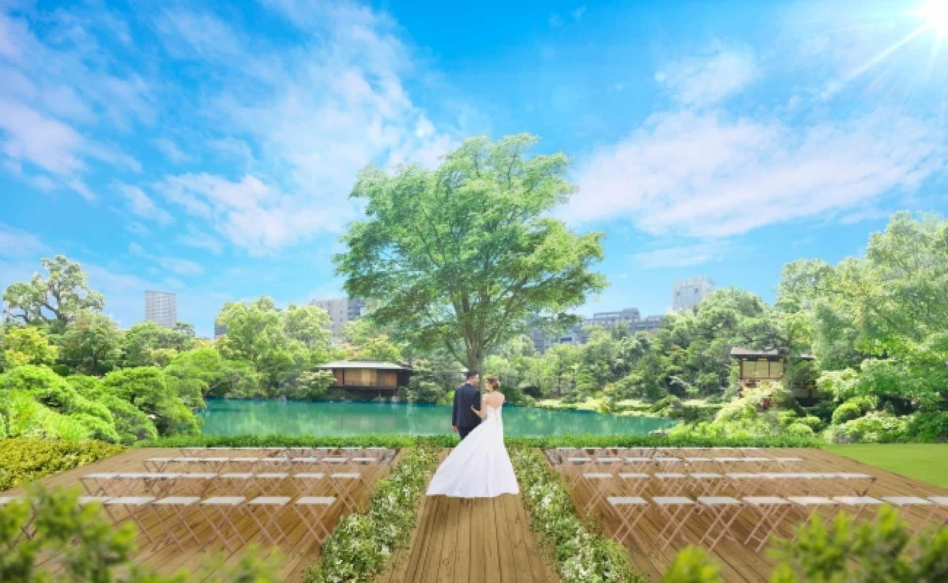 相楽園会館が「THE SORAKUEN」としてリニューアル!1日2組限定の結婚式が叶う