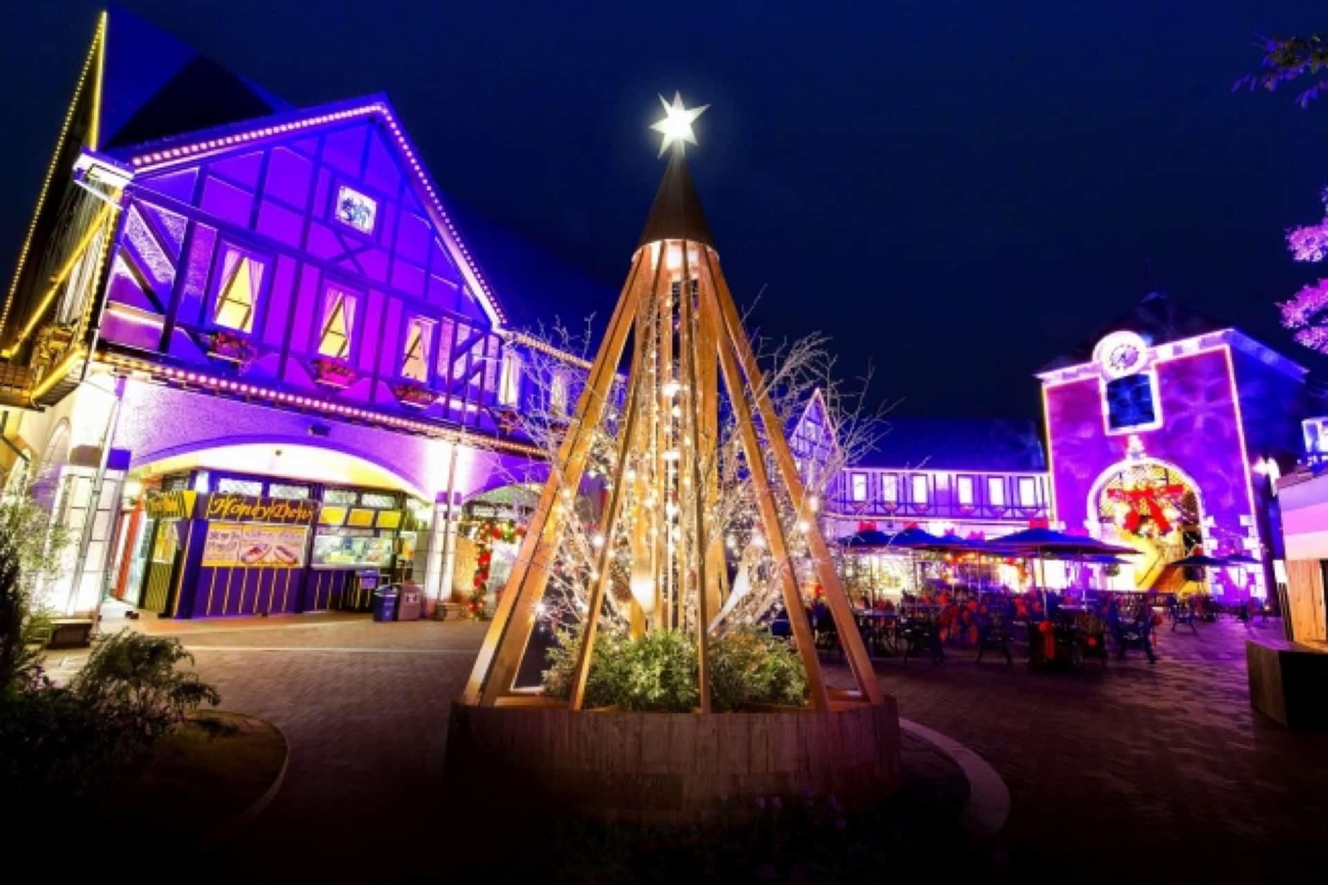神戸布引ハーブ園で「古城のクリスマス2018」開催。夜景&イルミネーションが楽しめてデートにおすすめ