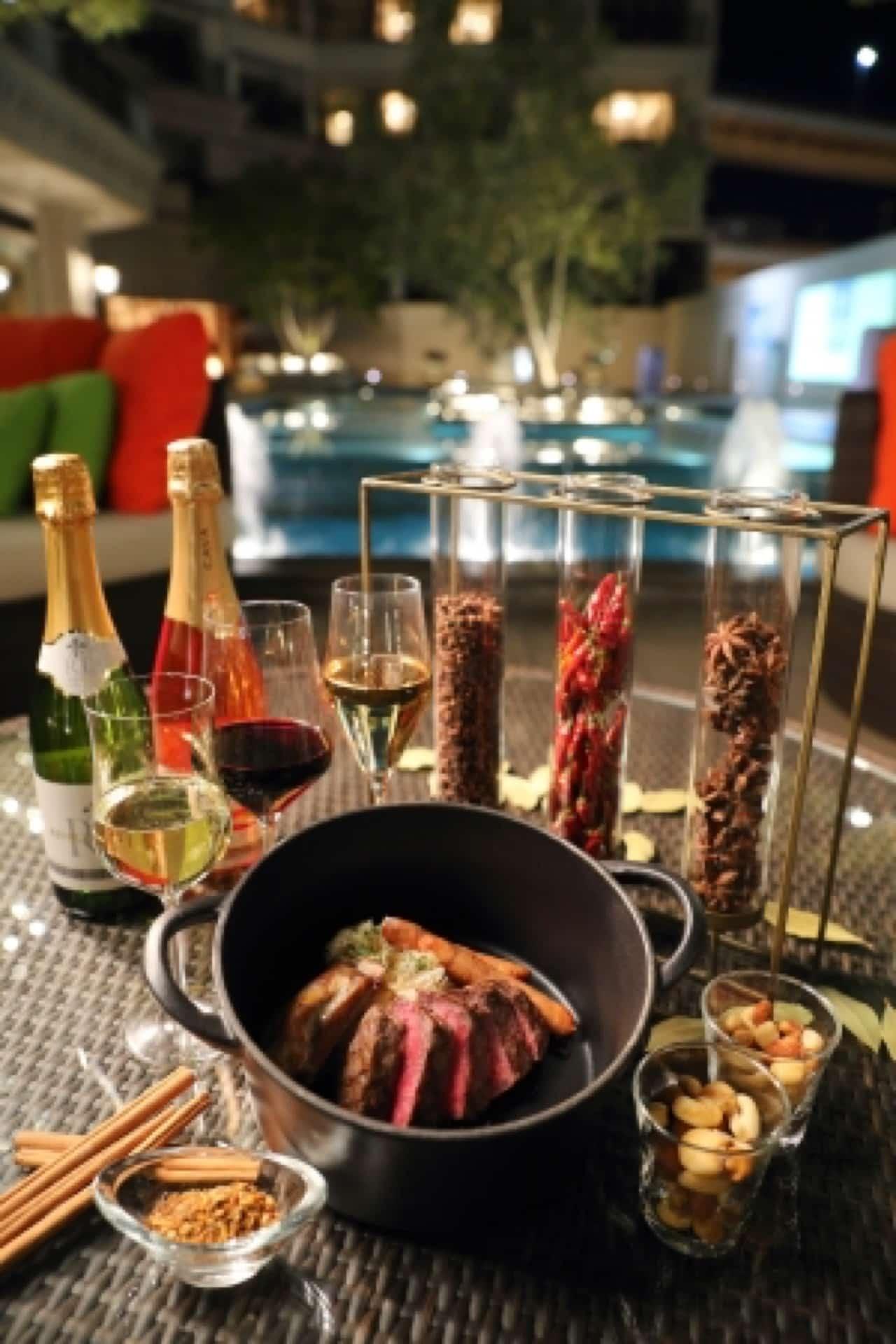 【2019年】4月から楽しめる!ラスイート神戸のワイン&ビアガーデン。今年はエスニックスタイルで