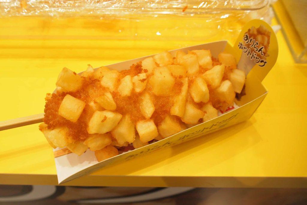 アリランホットドッグ 神戸マルイ店 神戸 三宮 ありらんホットドッグ チーズドッグ ハットグ おすすめ 食べ方 ソース パウダー