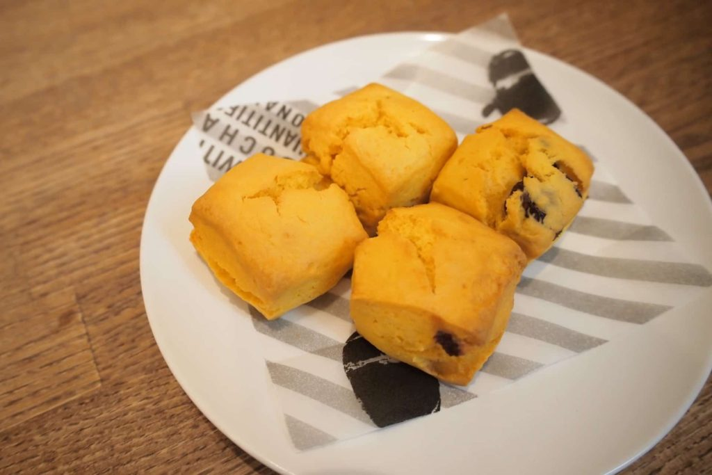 Zucca FINE VEGETABLE&DELI ズッカ ファイン ベジタブル&デリ 御影 神戸 カフェ かぼちゃ スコーン