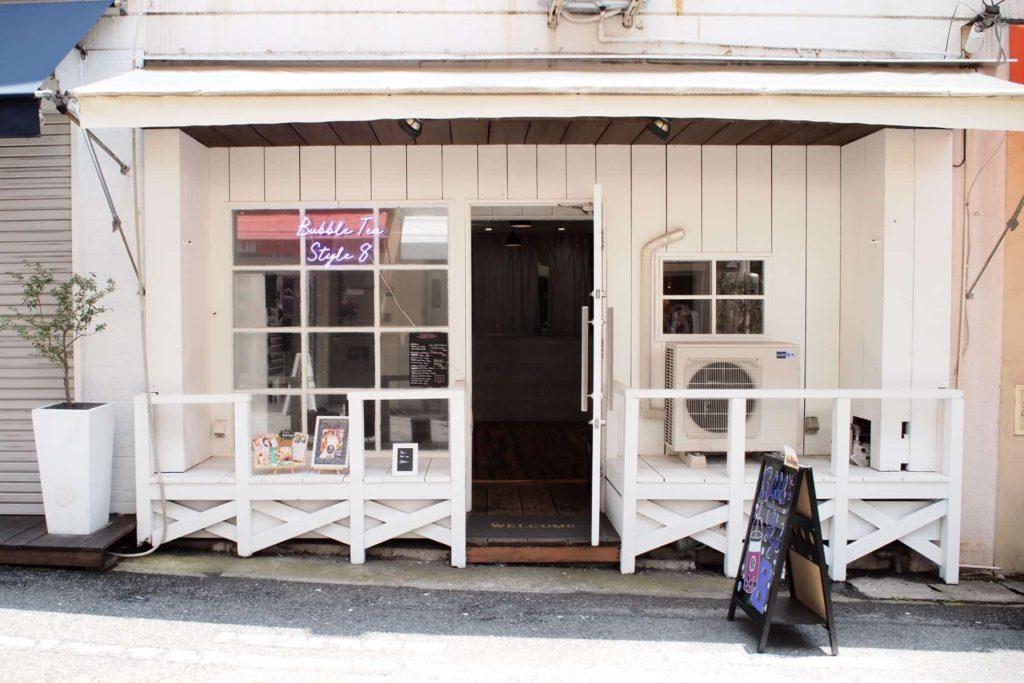チーズティー 神戸 バブルティースタイルエイト Bubble tea style 8 タピオカ 元町 トアウエスト 場所 行き方
