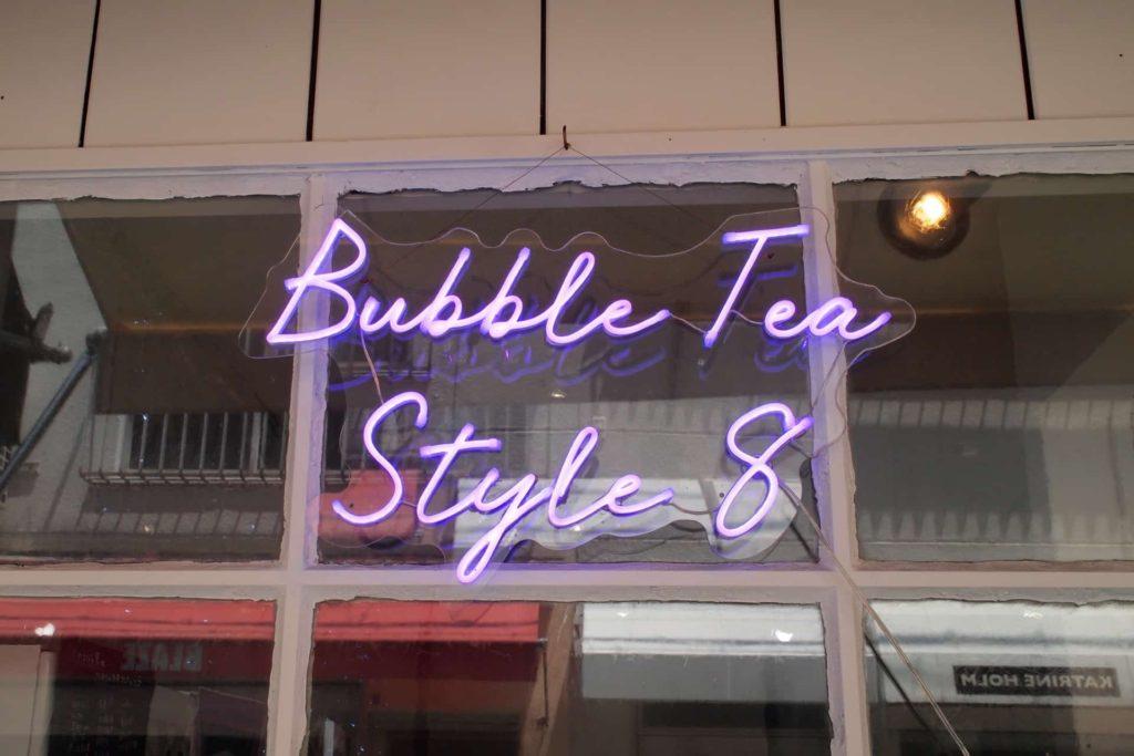 チーズティー 神戸 バブルティースタイルエイト Bubble tea style 8 タピオカ 元町 トアウエスト 店内 おしゃれ