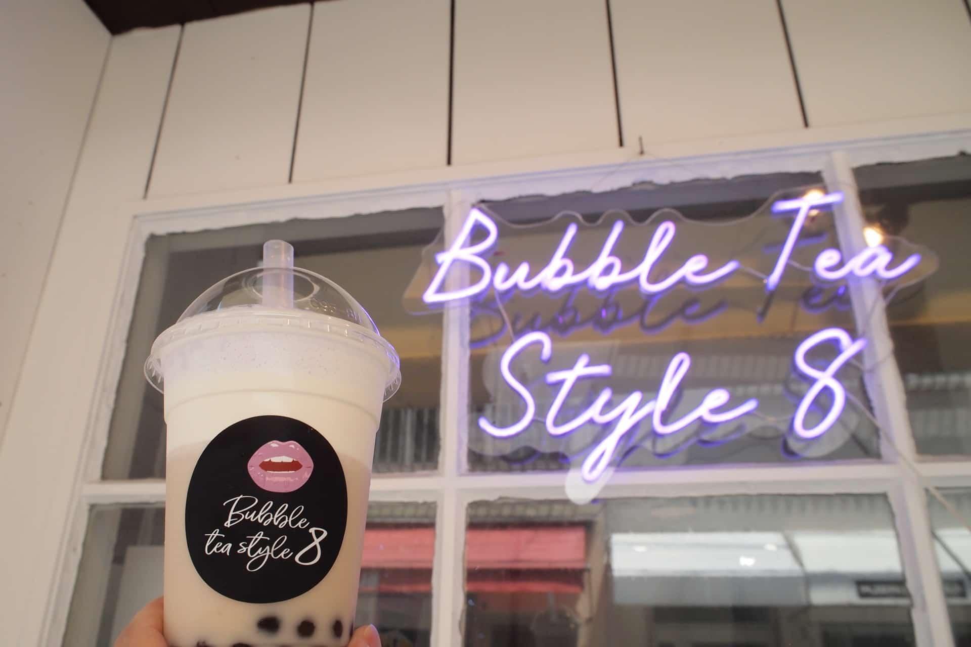【閉店】バブルティー スタイル エイト − 神戸・元町で本格派のチーズティー