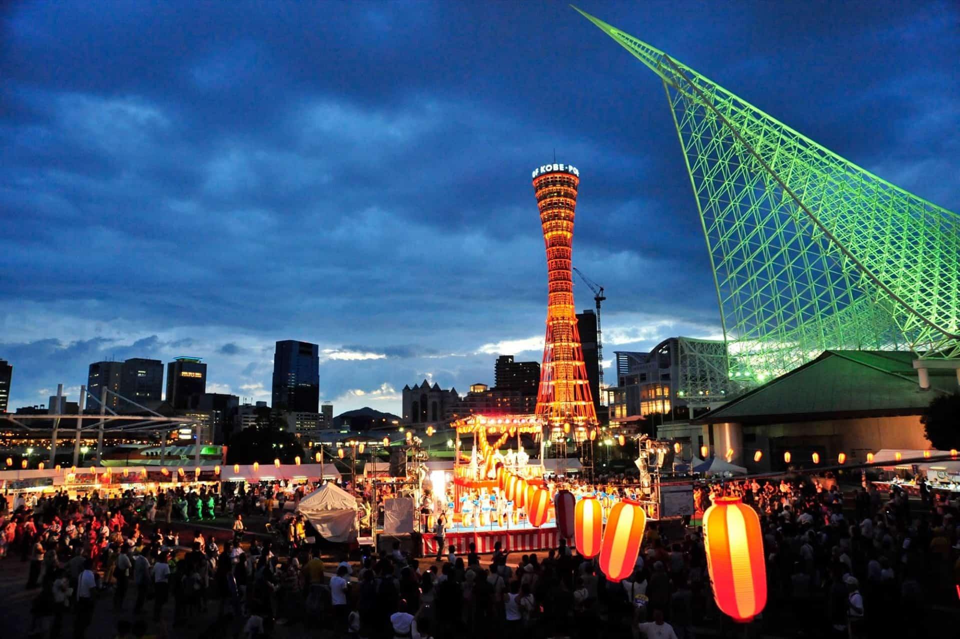 関西最大級!「こうべ海の盆踊り2019」が神戸・メリケンパークで今年も開催。お昼から屋台も楽しめる!