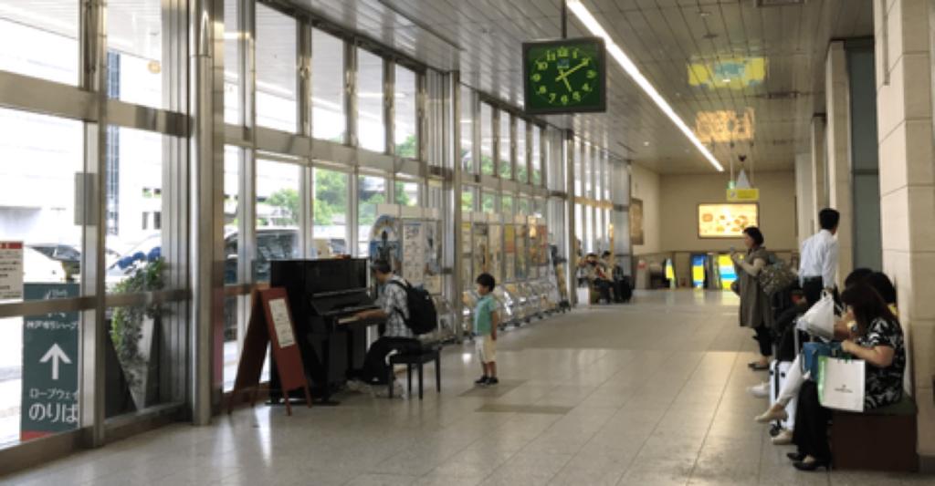ストリートピアノ 神戸 場所