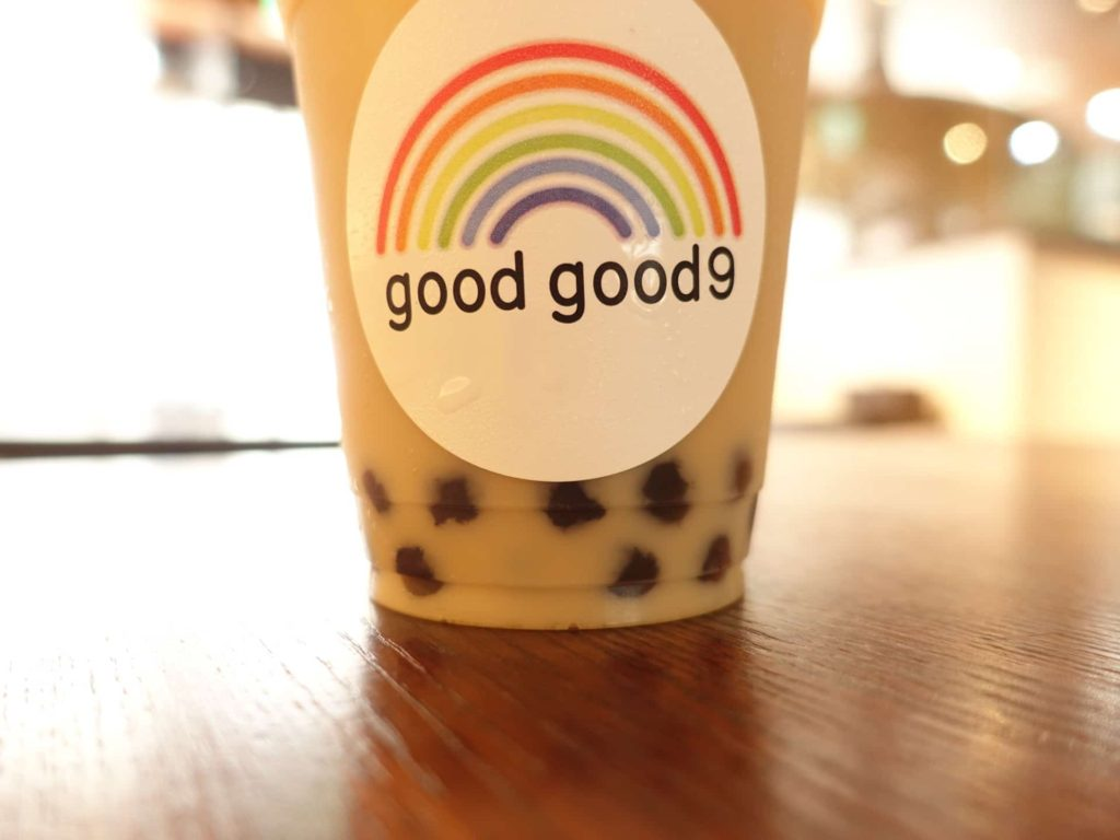 goodgood9 グッドグッドナイン 神戸 三宮 南京町 タピオカ ミルクティー 感想 口コミ