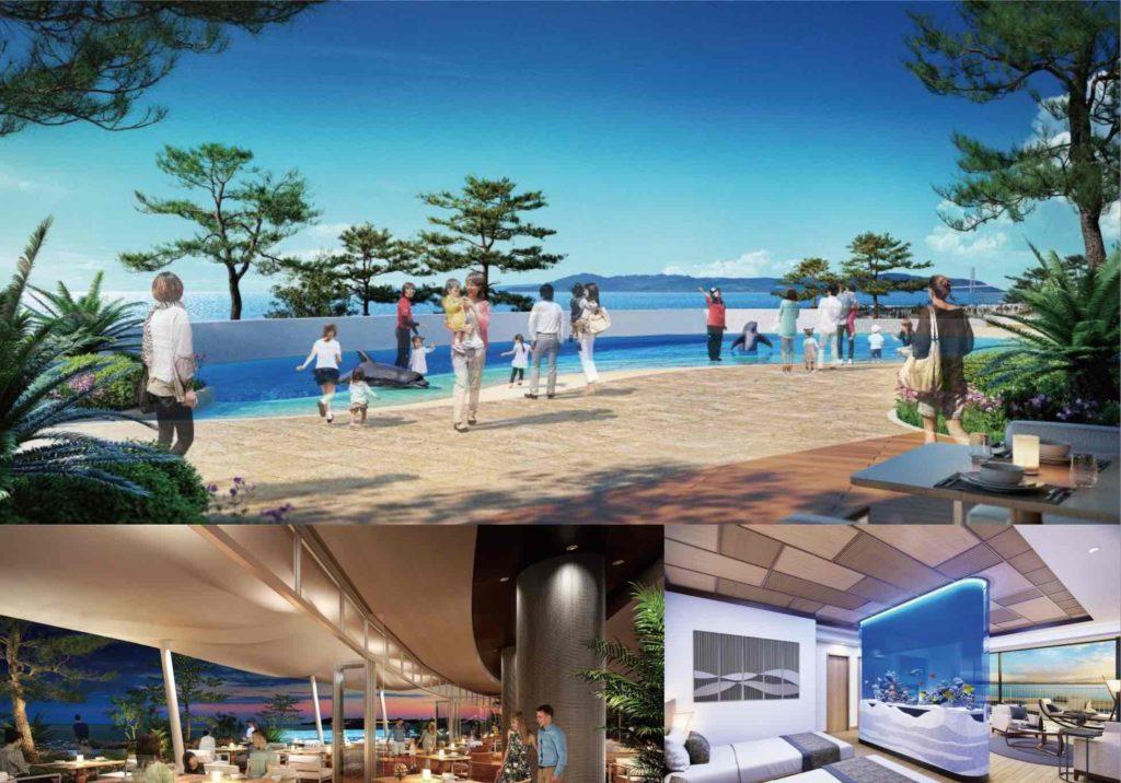 須磨海浜水族園 須磨水族館 スマスイ リニューアル 2024 ホテル