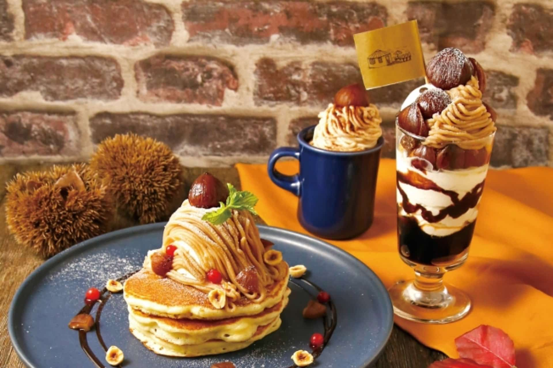 YURT(ユルト)でモンブランづくしの2019年秋スイーツが登場。ボンボンパフェやパンケーキも