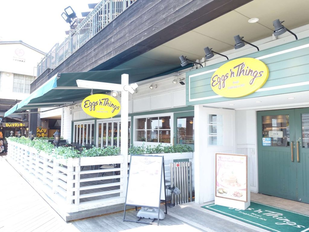 エッグスンシングス 神戸 ハーバーランド umie ウミエ モザイク 場所 行き方 アクセス