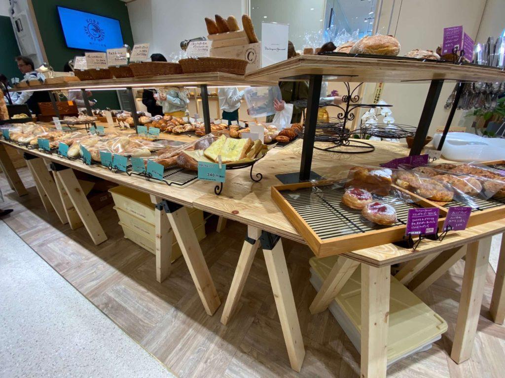 神戸プルミエベーカリーマーケット kobe 1er bakery market 神戸マルイ 三宮