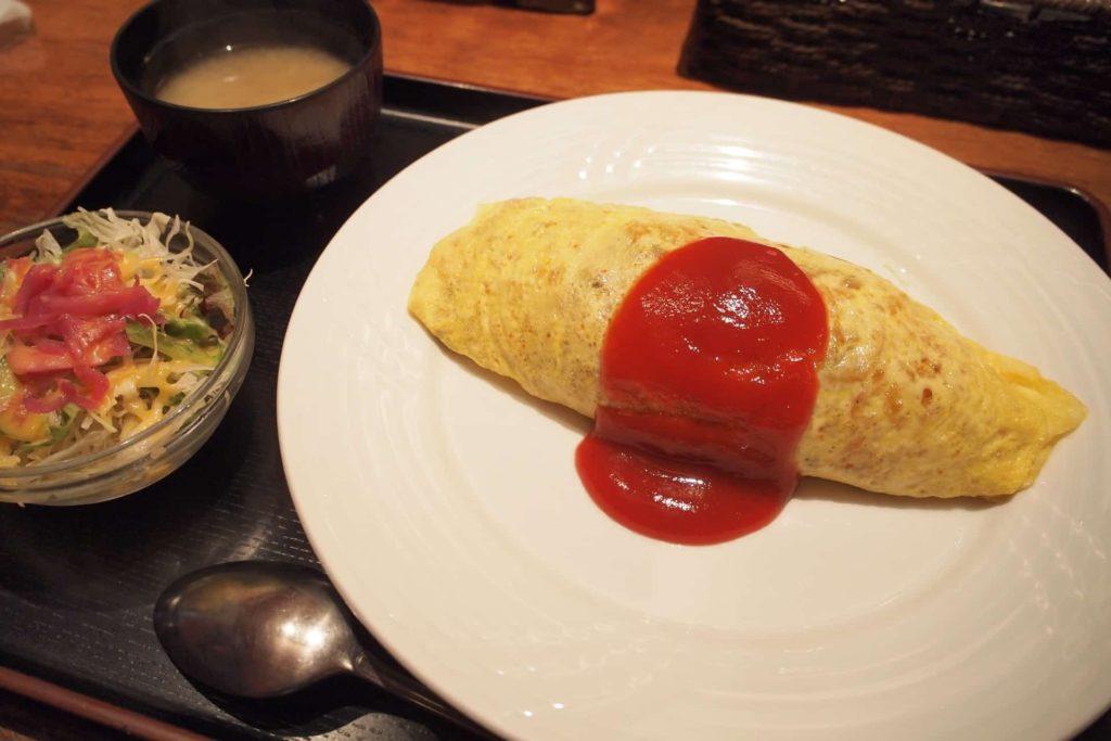 ラミ L'Ami 元町 神戸 洋食 ランチ メニュー 値段 おすすめ オムライス ハンバーグ 感想