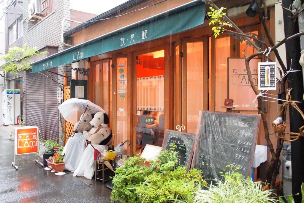ラミ L'Ami 元町 神戸 洋食 場所 行き方