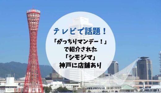 「がっちりマンデー!」2020年5月17日放送回で「シモジマ」登場!神戸・三宮にも店舗あり