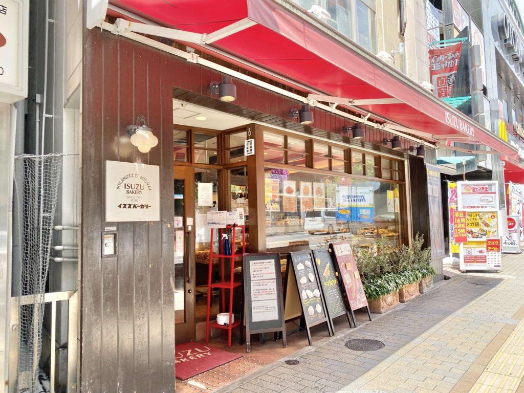 イスズベーカリー 神戸 パン 店舗 お店 場所